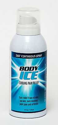 Body Ice - Continuous Spray for Cooling Pain Relief