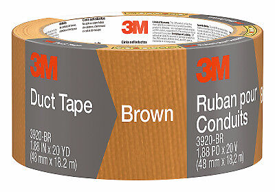 3M COMPANY 2-Inch x 20-Yard Brown Duct Tape