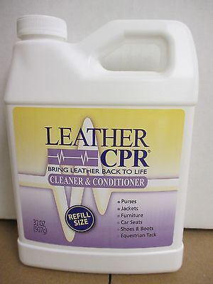 Leather CPR  Cleaner and Conditioner - 32oz. Refill