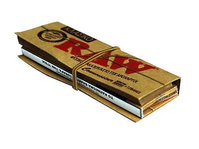 Raw Classic Organic Rolling Paper + 36TIPS (2/5/10/24)pcs *Standard Booklet Size