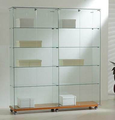 Showcase 157X40X180H - Ve160180 tempered glass Furnishing Accessories