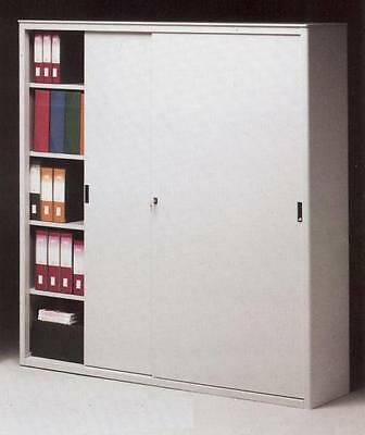 Filing cabinet with sliding doors cm. 150x45x200H Furniture Complements