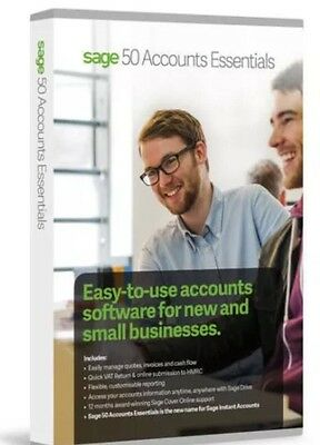New Sage 50 Accounts Essentials (Boxed Product)