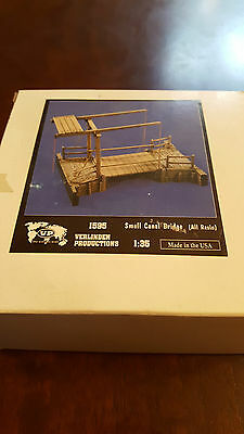 Verlinden 1:35 Small Canal Bridge (all resin) 1595