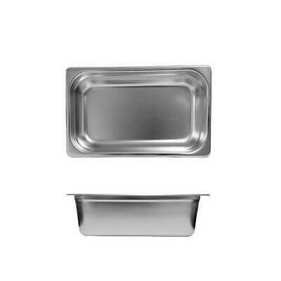 Bain Marie Tray / Steam Pan / Gastronorm 1/4 Size 150mm Deep Stainless Steel