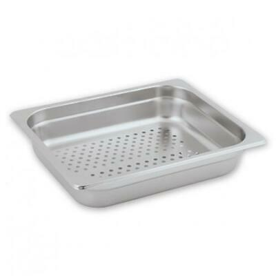 Bain Marie Tray / Steam Pan / Gastronorm, Perforated, 1/2 Size, 65mm Deep