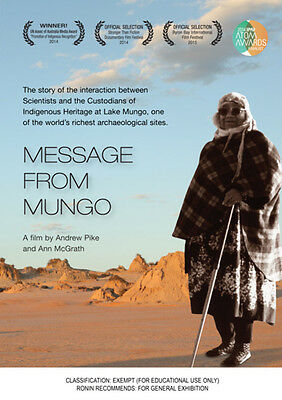 New DVD** MESSAGE FROM MUNGO