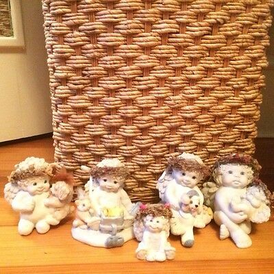 Dreamsicles Cast Art Figurines- Lot of 5