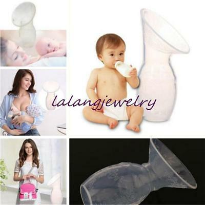 Manual Female Breast Pump Breast Suction Milk Collection Silicone BPA Free LJ
