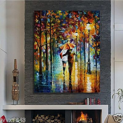 Modern Large Hand painted Art Oil Painting Abstract Wall Decor Canvas No Frame