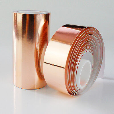 Guitar Pickup Copper Foil 30mm x 4m Shielding Screening Tape Conductive Adhesive