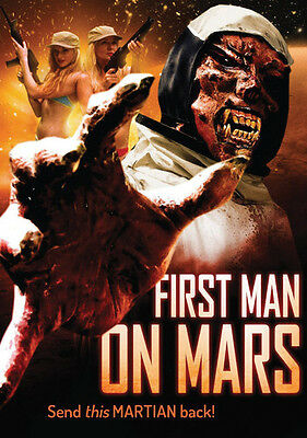 First Man On Mars (2016, DVD New)