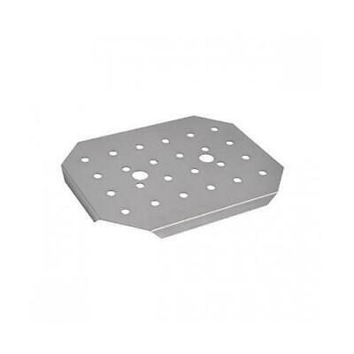 Drain Plate Insert for Bain Marie Tray / Steam Pan, 1/2 GN, Stainless Steel