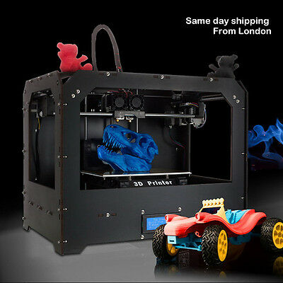 CTC 3D Printer - Dual Extruder - MK8 - Factory Direct Lowest Price- ABS / PLA