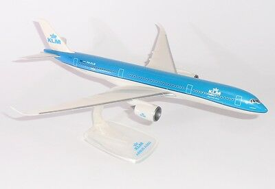 KLM Airbus A350-900 New CS 1/200 scale desk model - FREE SHIPPING
