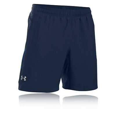 Under Armour Launch 2-In-1 Hombre Azul Marino Running Deporte Shorts Pantalones