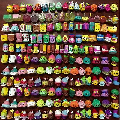 Random Lot of 50Pcs Shopkins Season 1 2 3 4 All different Loose Shopkins Toy New