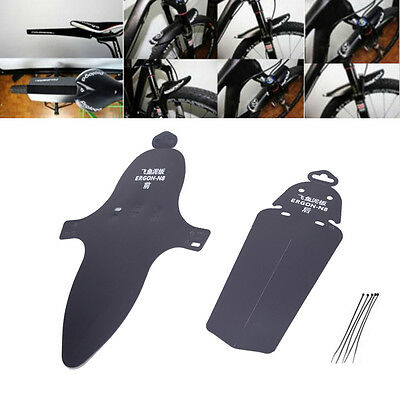 New Road Bike Cycling Bicycle With Ribbon Flexible Fender Front Rear Mudguard