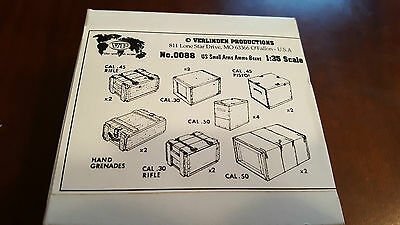 Verlinden 1:35 US Small Arms Ammo Boxes 0088
