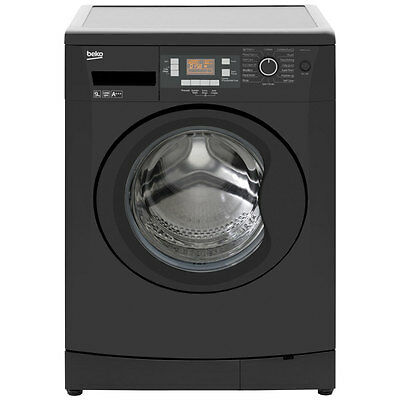 Beko WMB91243LB A+++ 9Kg 1200 Spin Washing Machine Black New from AO