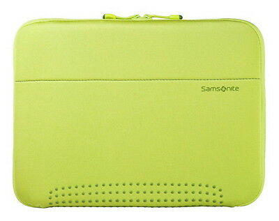 Samsonite Green 15.6 Laptop Bag Notebook Carry Protective Sleeve Cover