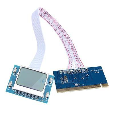 PCI Motherboard Diagnostic Tester Test Analyzer Post Card for Laptop PC Com TN2F