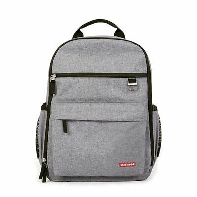Skip Hop Duo Changing Backpack (Heather Grey)
