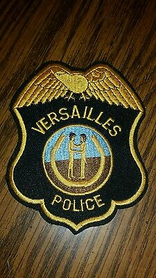 VERSAILLES KENTUCKY POLICE SHOULDER PATCH RARE kentucky sheriff law patch
