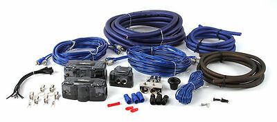 The InstallBay AK01 0 AWG Gauge Complete Dual Amplifier/Amp Installation Kit