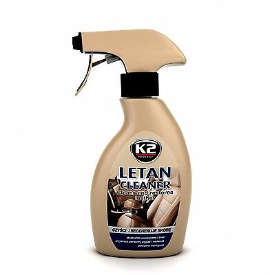 K2 Letan Cleaner Cleans Restores Leather Cleaning Skin Colors Protect Car Sofa
