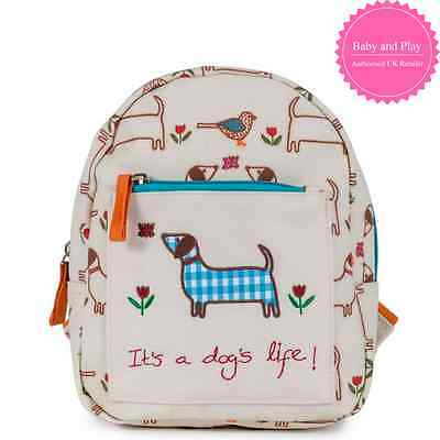 Pink Lining Child Mini Rucksack It's A Dogs Life - Kids Backpack