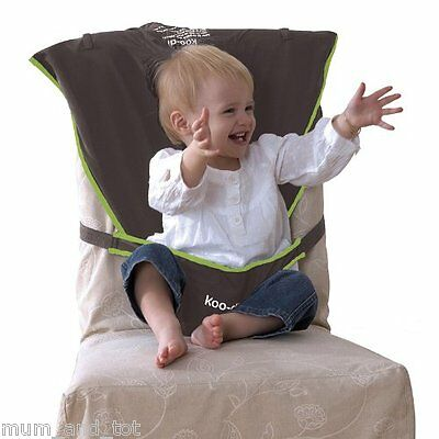 Koodi Chair Harness Dining Seat Hook On Booster Child Toddler Safety Travel