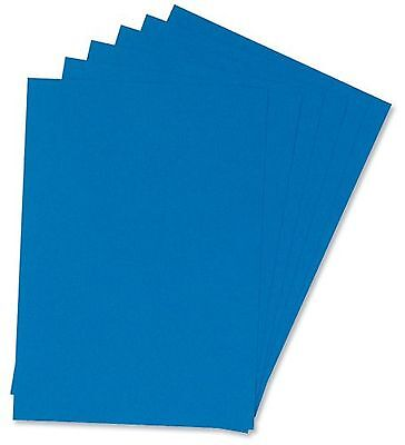 5 Star Office Binding Covers Leathergrain A4 Blue (Pack 50x2)