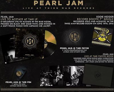 Pearl Jam Vinyl Record LP Third Man Records Vault Package 29 Sealed unopened