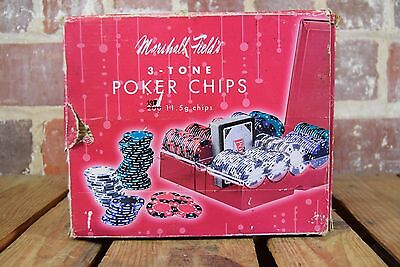 2005 Marshall Field 3-Tone Poker Chip Set