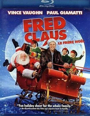 Fred Claus (DVD, 2008, 3-Disc Set) Brand New Sealed