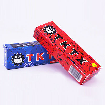 TKTX 35% More Numbing Cream Piercing Permanent Eyebrow Embroidered Tattoo 10g x1