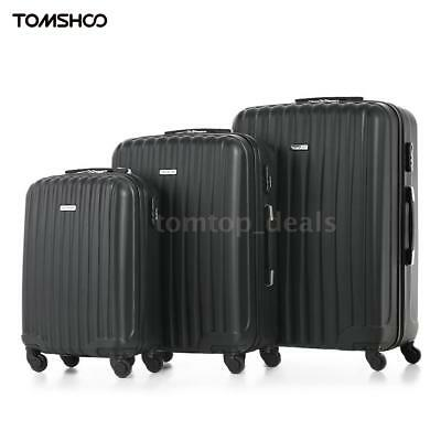 3PCS Luggage Suitcase Set ABS +PC Carry Ons Travel Bag Trolley Spinner Wheel K9B