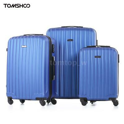 3PCS Luggage Sets Hard Shell ABS +PC Wheel Spinner Travel Suitcase Bags C1D3