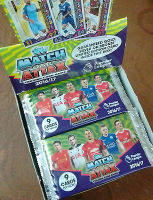 Match Attax Trading Cards Game Season 2016/17 Topps Official Collection 16/17