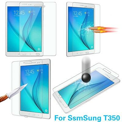 """For Samsung Galaxy Tab A T350 8.0"""" Premium Tempered Glass Protector Screen Film"""