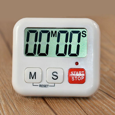 Kitchen Clock Digital LCD Cooking Timer Sport Count-Down Up Clock Portable Alarm