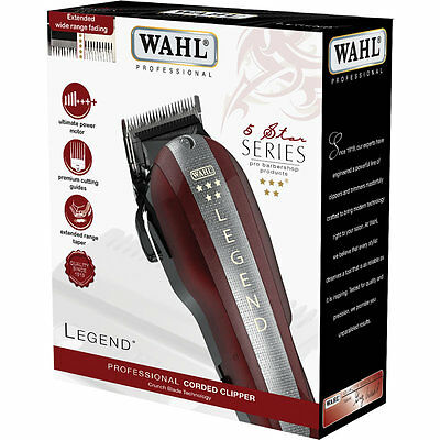 Wahl Professional 5 Star Legend Hair Clipper (With Premium Guards) *bnib* *uk*