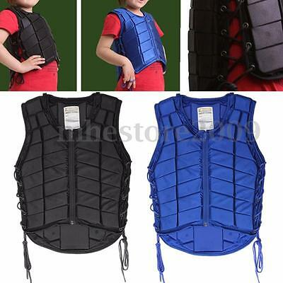 Kid Sizes Horse Riding Equestrian Body Protective Safety Eventer Vest Protector