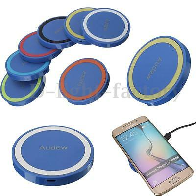 AUDEW Qi Wireless Charging Charger Pad Mat For Samsung Galaxy S6 S7 Edge iPhone7