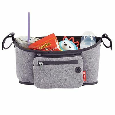 Skip Hop Grab and Go Stroller Buggy Organiser - Heather Grey