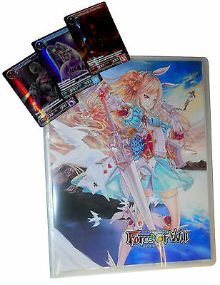 Portfolio 9 Tasche + 3 Promo Cards - Force of Will FoW New!