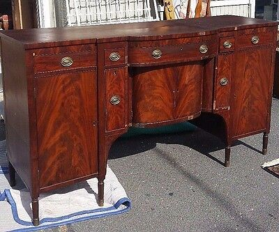 Antique  Federal Sideboard  / Buffet  Circa 1820's  Nice!! with Wine Draws