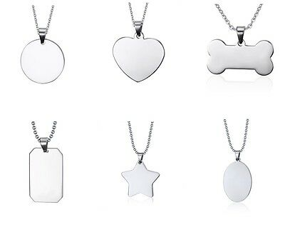 Military Stainless Steel Dog Tags NECKLACE Mens Boys Fancy Dress Costume