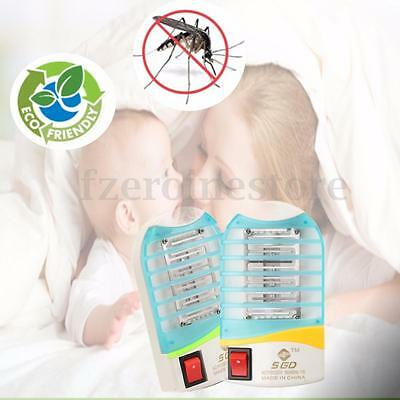 Buy 1 Get 1 Electronic Mosquito Fly Bug Trap LED Night Lamp Insect Zapper Killer